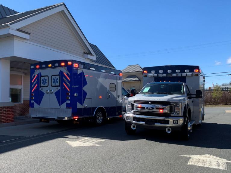 Lexington Park Ambulances #8200, 8201